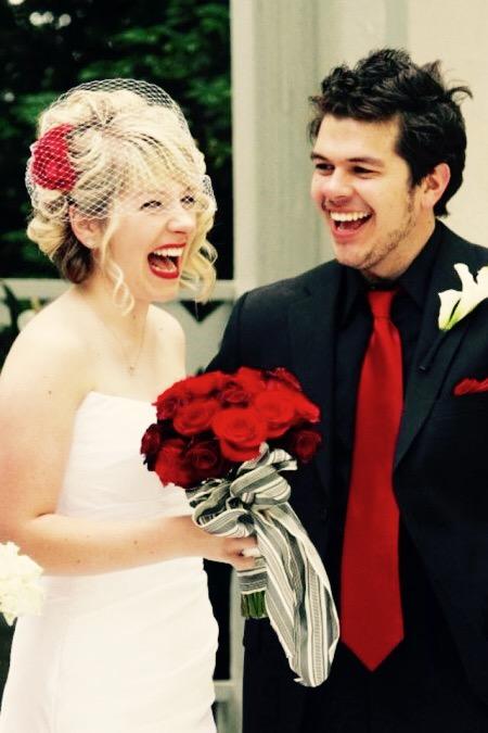 Curly Wedding Updo