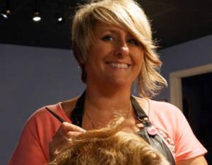 Lawrenceville hair stylist Teena Skillen